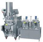 hotel shower gel making machine, cosmetic lotion cream mixing machine, fixed / tilting vacuum emulsifier