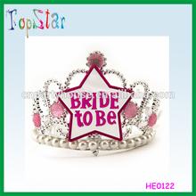 China Supplier Custom Hot Sale Wedding Hen Night Bright Pink Headband