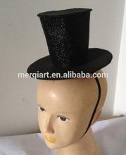New halloween mini top hat on headband fancy address accessory