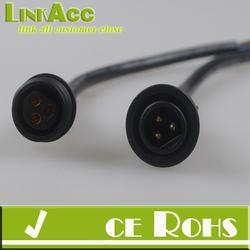 Linkacc-76l LEDJump Male Female Plug 3 Pin LED Waterproof Connector