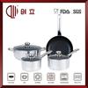 7pcs precise heat cookware