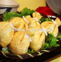 Frozen fried beancurd bun /frozen instant food/snack