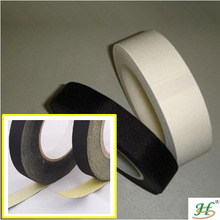 Holding power waterproof acetate fabric double side adhesive rubber tape