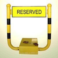 Remote control auto parking spot protector
