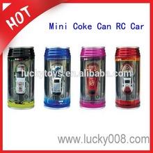 1:63 Scale Cute 4 Styles 8 Colors Coke Can Mini RC Car