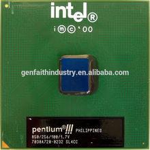 Intel Pentium III Processor 850 MHz, 256K Cache, 100 MHz FSB