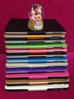 Newest wholeselling PU leather Tablet Case multiple function stand card slot pu leather for ipad5 for ipad air