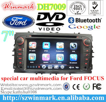 car dvd player for FORD FOCUS/MONDEO/S-MAX with digital TFT LCD, GPS,DVB-T or ISDB-T DH7009