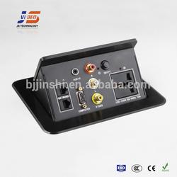 JS-550+ Tabletop outlets with AU/SA/UV/FR/EU socket supplier