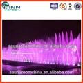 jardim de música de dança cachoeira grande paisagem ao ar livre de decoração de luxo de água fonte de dança