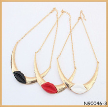 High Quality Factory Fashion Top Grade Cheap Gold choker necklace