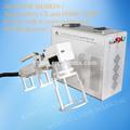 Ce e ISO9001 : 2008 aprovado alta precission alta velocidade portátil mini fiber laser máquina da marcação para a etiqueta