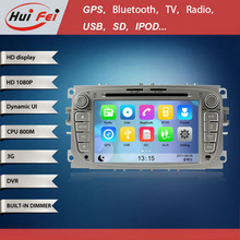 for FORD Focus2 with in Car DVD Turkish Language HD 1080P 800MHZ CPU 3G WIFI DVB-T Radio Video car Audio gps navigation