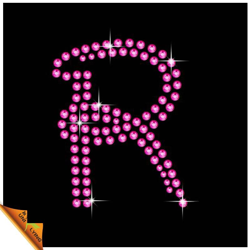 R Alphabet Design Pink letter R design DIY