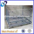 Metal steel wire container/recipiente fio/contenedor de alambre