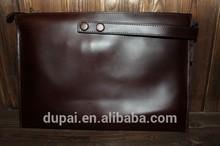 Vintage genuine leather man's handbag