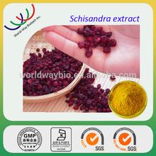 GMP factory supply high quality pure natural Schisandra Berries P.E.