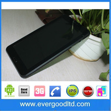 Factory Wholesale 7 Inch 3G Note Phone Tablet PC MTK8382 Quad Core Cortex-A7 1.3GHZ Android 4.2 GPS 8GB Dual Camera