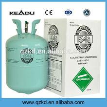cylindre de gaz blocsemballage r134a refrigerante