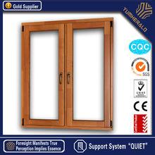 Yumherald modern aluminium and wooden windows for homes