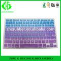 Colorful clavier en Silicone protecteur peau pour Macbook Pro 13 ''15''17''