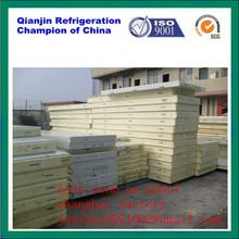 profesional de cámaras frigoríficas de aislamiento de panel de pared de la fábrica de shanghai