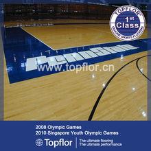 Internatinal volleyball court flooring