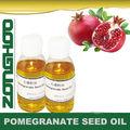 100% frescas libres de colesterol esencial de granada de masaje aceite de semilla de