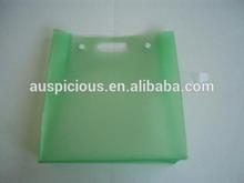 popular dark green transparent gusset eva button bag for cosmetics