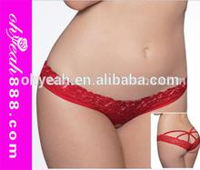 Wholesale Lady Knickers Lingerie Thongs V-String Panties