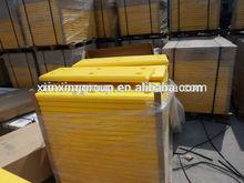 marine plastic fender/fender facing pad/HDPE Sliding Fenders