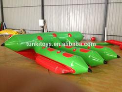 Plato 0.9mm PVC water fly fish/inflatable flyfish banana boat