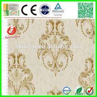elegant poly cotton european style jacquard fabric for home textile