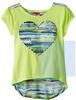 2014 latest sweet girl heart girls t-shirts teen girl t shirt
