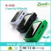 550mAh flexible rohs solar charger flashlight for iphone 5,nokia,samsung s4