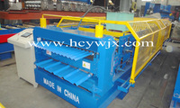 Double deck corrugated/IBR roofing sheet roll forming machine