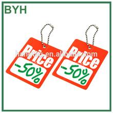 2014 hot sale printable garment price tag wholesales