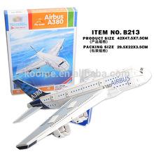 Promotion ! 3D puzzle 71 pcs cheap a380 scale model for sale