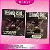 Black Cat 1g herbal incense bags/Aluminum foil packaging zipper bags