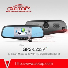 2014 Newest 5 Inch auto GPS Navigation with Bluetooth,HD DVR,FM Transmitter for Toyota Series