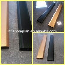 Wow! Alumínio anodizado grades. Rails para portas de correr roupeiros. Trilho de cortina de alumínio. Caixas para decorativo corrimão