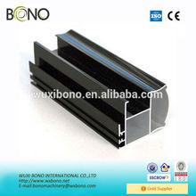 Customized anodized glass curtain wall aluminium profiles