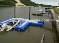 modular floating wharf,floating wharf,plastic wharf