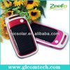 2014 shenzhen factory 2200mah mobile phone solar li-ion battery charger with key chain