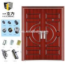 commercial kerala double steel doors