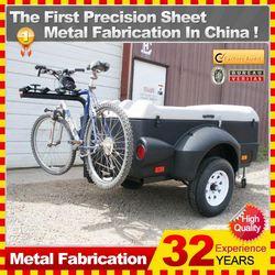Kindle nice looking camping trailer motorcycle