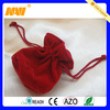 China professional factory produce small velvet drawstring bags