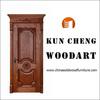 Cherry solid wood door