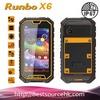 "IP67 5""inches Quad walkie talkie rugged phone Dual sim card military waterproof phone"