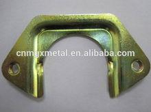 Custom High Quality Yellow Zinc-plated Mild Steel Fixed Part